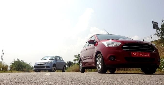 Ford Figo Aspire vs Maruti Swift Dzire - Comparison Review