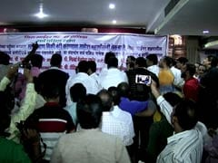 At All-Party Meet on Mumbai Meat Ban, BJP Members Hold Protest