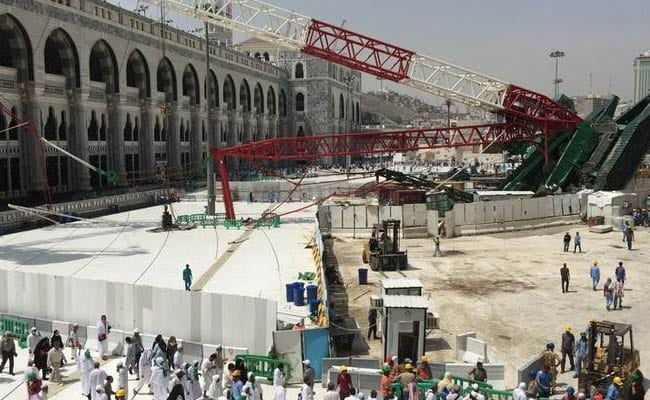 9 More Indians Died in Mecca Crane Collapse, Foreign Ministry Confirms