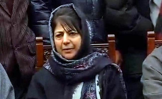 Mehbooba Mufti Likely To Be First Woman Chief Minister Of Jammu And Kashmir