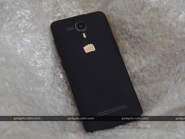 micromax canvas xpress2 back ndtv