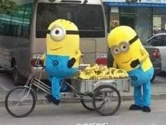 Minions Sell Bananas in China But Not Everyone Thought Them Cute