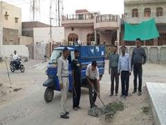 बीकानेर : प्रिंसिपल ने शुरू किया घर-घर जाकर कचरा इकट्ठा करने का अभियान