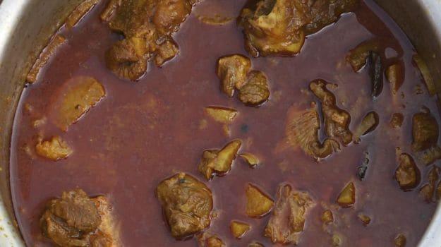 mooli wala meat