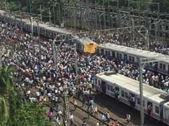 A Mumbai Local Train Derailed, Another Approached, And A Brake Hit Hard