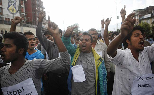 Major Trade Checkpoints From Nepal to India Blocked by Protesters