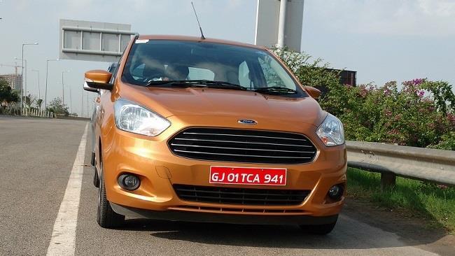 New Ford Figo front