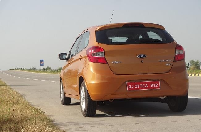 New Ford Figo rear