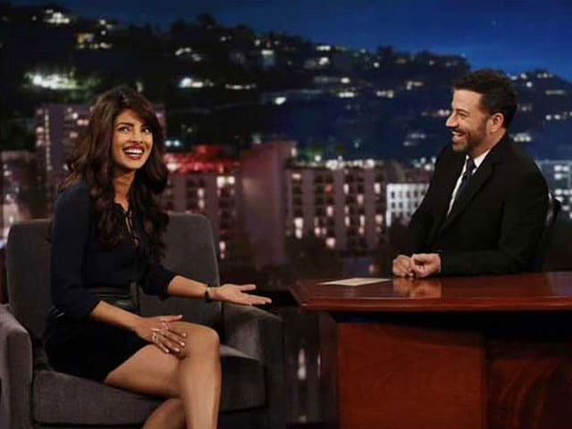 Priyanka Chopra Went on Jimmy Kimmel and Met the Real Jason Bourne