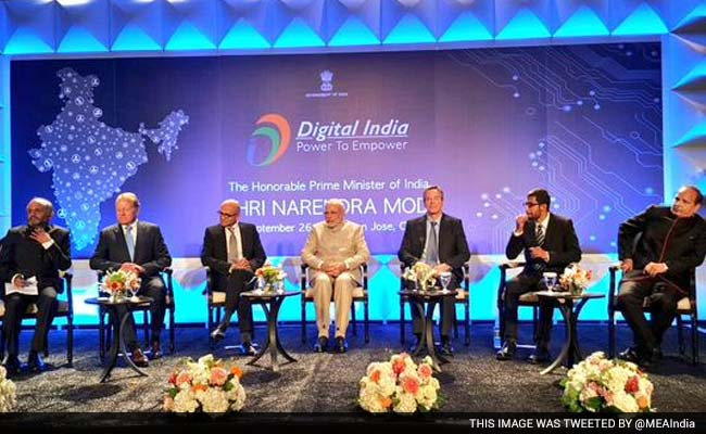 pm modi digital india event