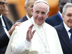 Pope Francis Arrives At United Nations, To Give Major Speech