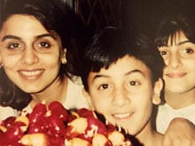 Ranbir Kapoor's Birthday: A Treat From Mother Neetu and Cake in London