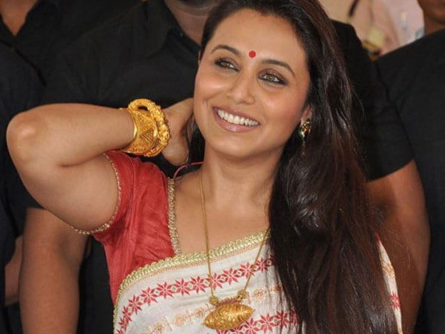 Rani Mukerji Spotted With a Baby Bump