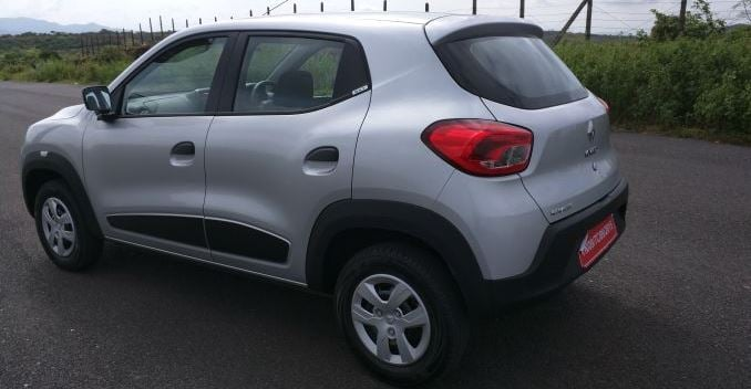 Renault Kwid Side-Rear