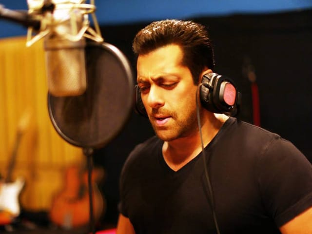 Salman Khan: I Can't Sing to Save My Life