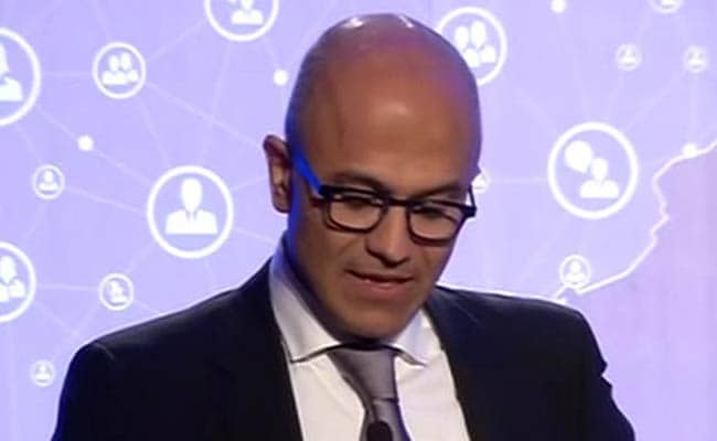 Microsoft Plans to Take Technology to 5 Lakh Indian Villages: Satya Nadella