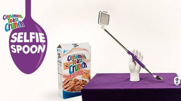 The Selfie Spoon: Eat Your Cake and Capture it Too!