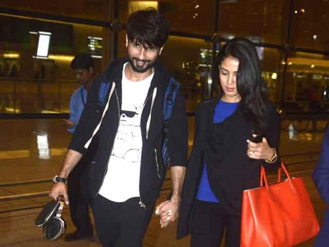 Shahid Kapoor Hasn't Seen Shaandaar But Wife Mira Has
