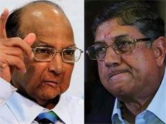 धुर विरोधी श्रीनिवासन और पवार ने की मुलाकात, बीसीसीआई अध्यक्ष पद को लेकर की चर्चा?