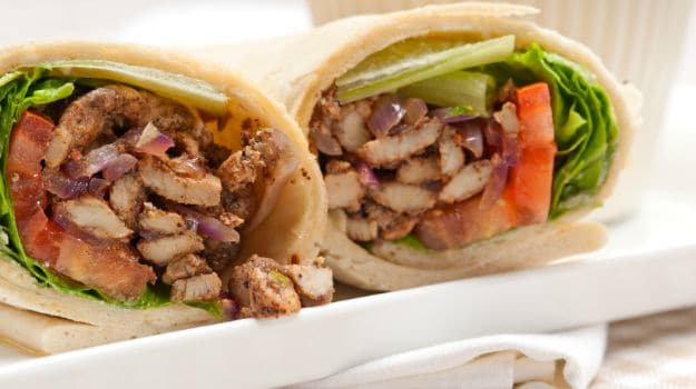 Low Fat Chicken Shawarma