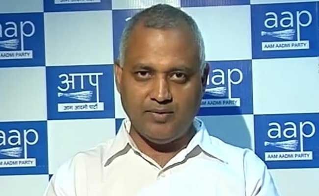 Court Orders Somnath Bharti To Be Charged For Assault On African Woman
