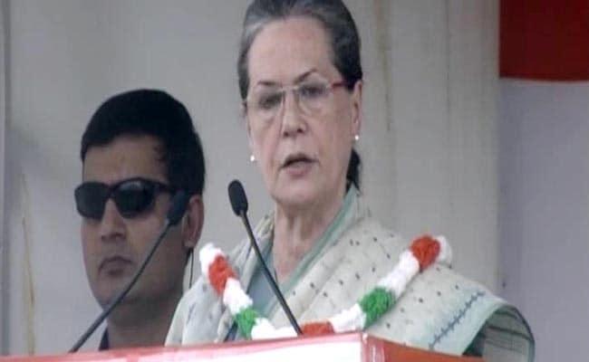PM Modi Has No Time to Solve Farmers' Problem: Sonia Gandhi