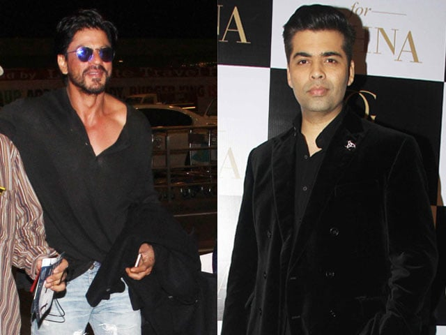 Shah Rukh Khan Flies to London For Promised 'Koffee' With KJo