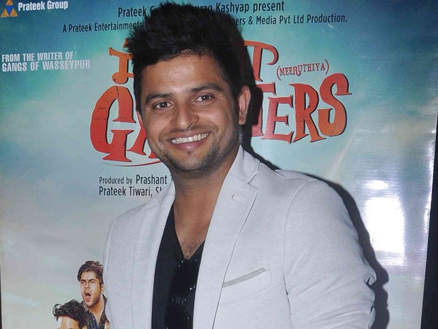 How Suresh Raina Ended up Singing Playback For Meeruthiya Gangsters