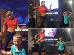 Taylor Swift 'Shakes It Off' With 7-Year-Old Dancing Sensation