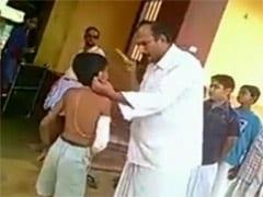 वायरल वीडियो : वेदों की शिक्षा देने वाला बना 'राक्षस', आठ साल के मासूम को बेरहमी से पीटा