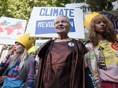 Vivienne Westwood Turns Catwalk Into Austerity Protest