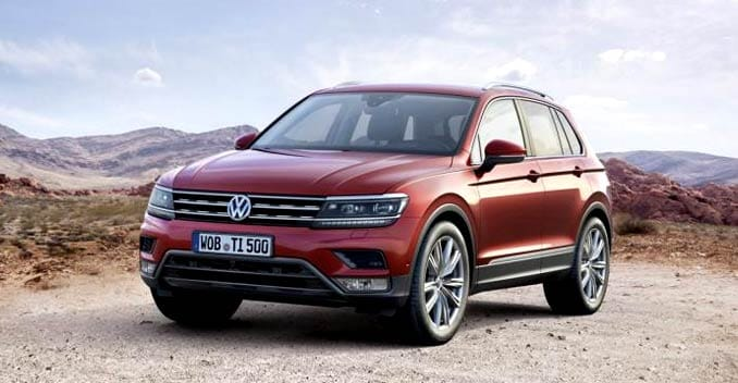 Volkswagen Tiguan Imported To India For Testing Launch In 2017