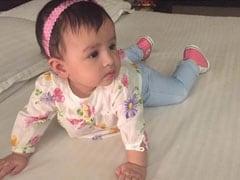 धोनी की पत्नी साक्षी ने शेयर की बेटी ज़ीवा की तस्वीरें, कहा 'मातृत्व के अनमोल पल'