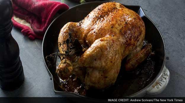 Roast Chicken, the Easy Way