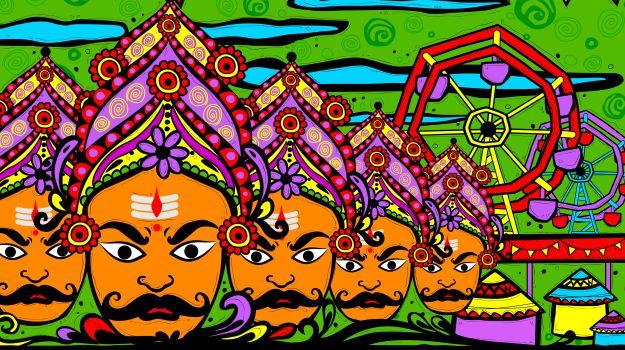 Dussehra 2016: The Experience of Watching Ravana Burn in a Ramlila