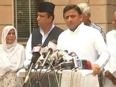 दादरी मामले में राजनीति हो रही है, दोषियों के खिलाफ कड़ी कार्रवाई होगी : अखिलेश यादव