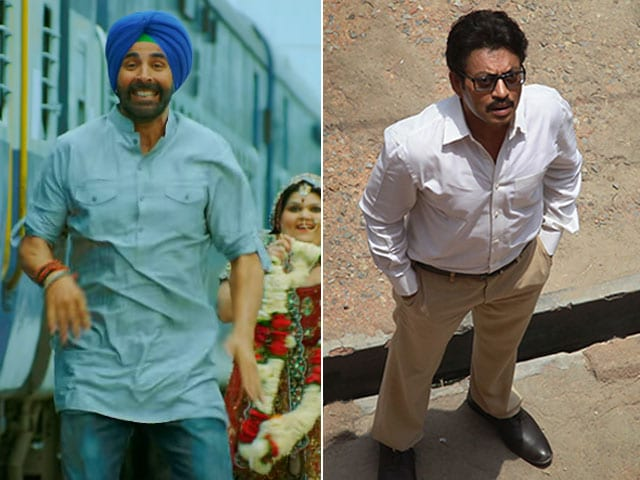 Less Bliing For Akshay and More for Talvar on Day Two