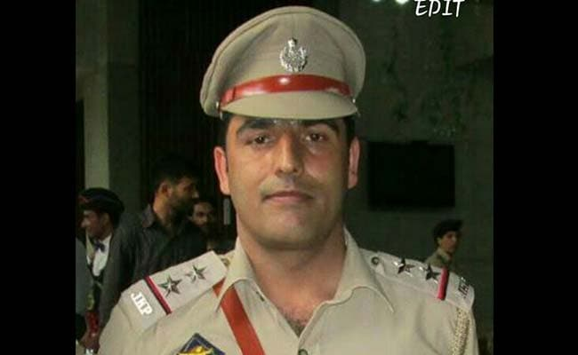 Kashmir's Top Counter-terror Cop Killed Chasing Udhampur Attack Mastermind
