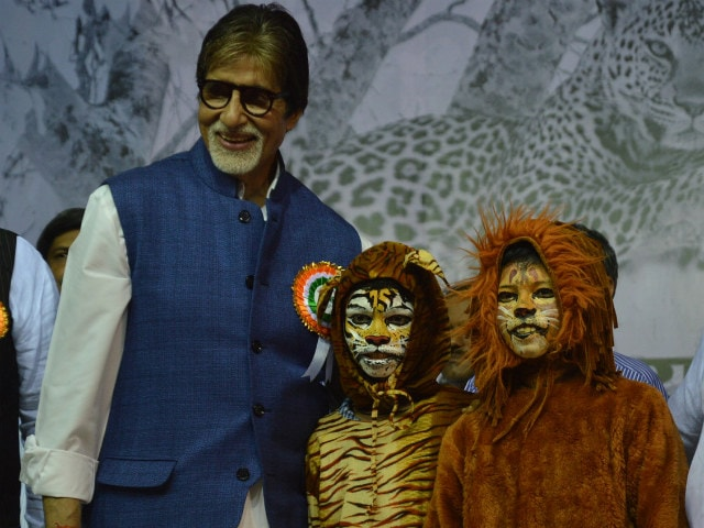 When Amitabh Bachchan Was 'Chased' by a Tiger for 4 Km
