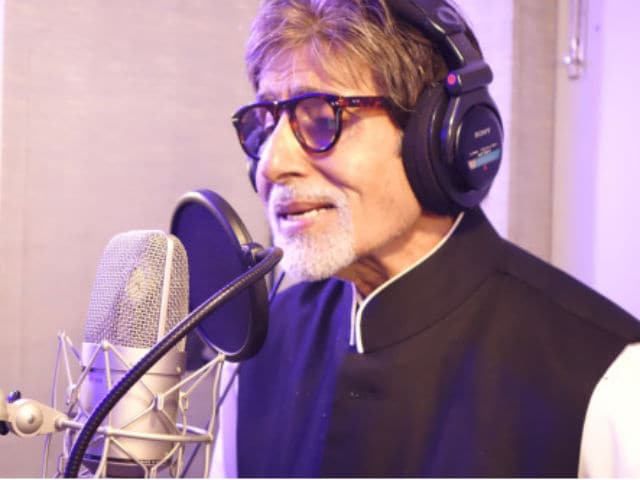 Image result for amitabh bacchan sing a song