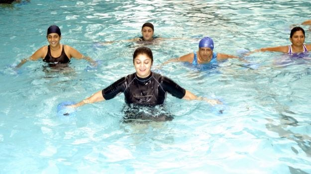 Aqua Aerobics: A New Fitness Trend That has Therapeutic Effects