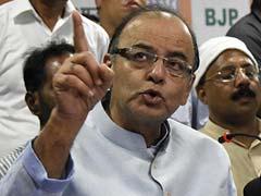 Nitish Kumar Has a 'Primitive' Development Model, Arun Jaitley Says