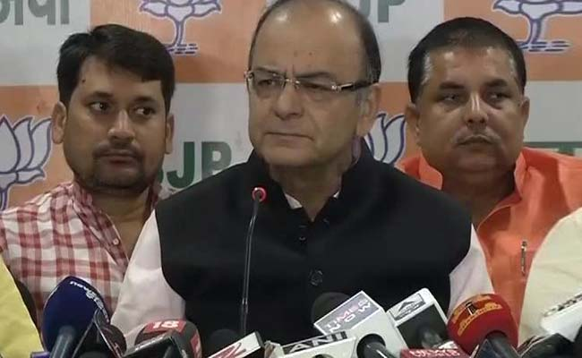 Manufactured Rebellion Growing, Says Arun Jaitley on #AwardWapsi Against 'Intolerance'