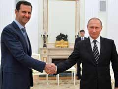 सीरिया : संकट में घिरे असद अचानक रूस को हुए रवाना, पुतिन को दिया धन्यवाद