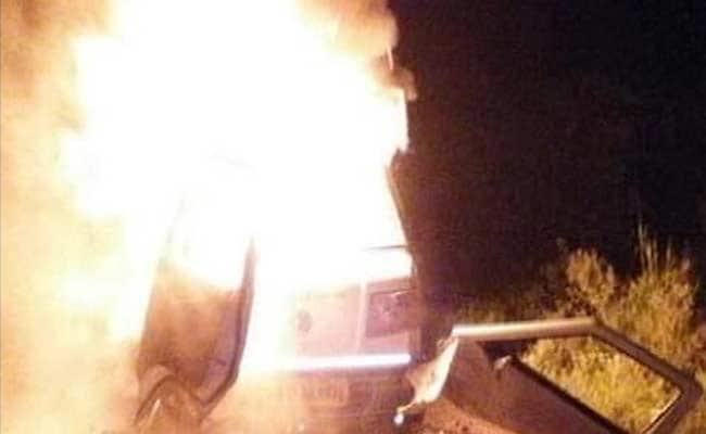 Van Set on Fire in Maharashtra After Beef Suspicion