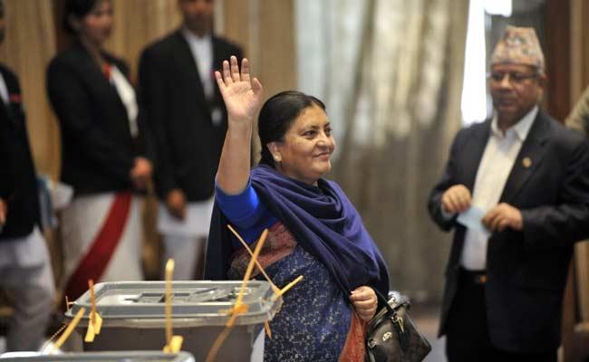Bidhya Bhandari Elected as Nepal's First Woman President
