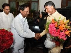 Chandrababu Naidu Invites KCR for Inauguration of Andhra Pradesh Capital