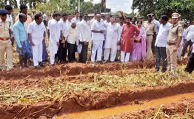 Crops Destroyed for Rahul Gandhi's Karnataka Rally, a Controversy is Sown