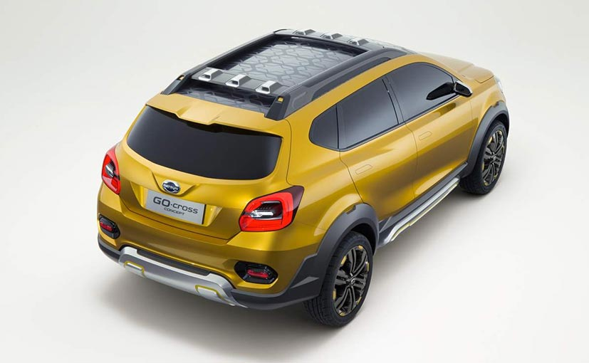 Datsun Unveils GO-Cross Concept - NDTV CarAndBike