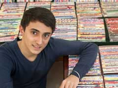 Delhi Boy Eyeing Guinness Book Entry for Biggest Pencil Collection